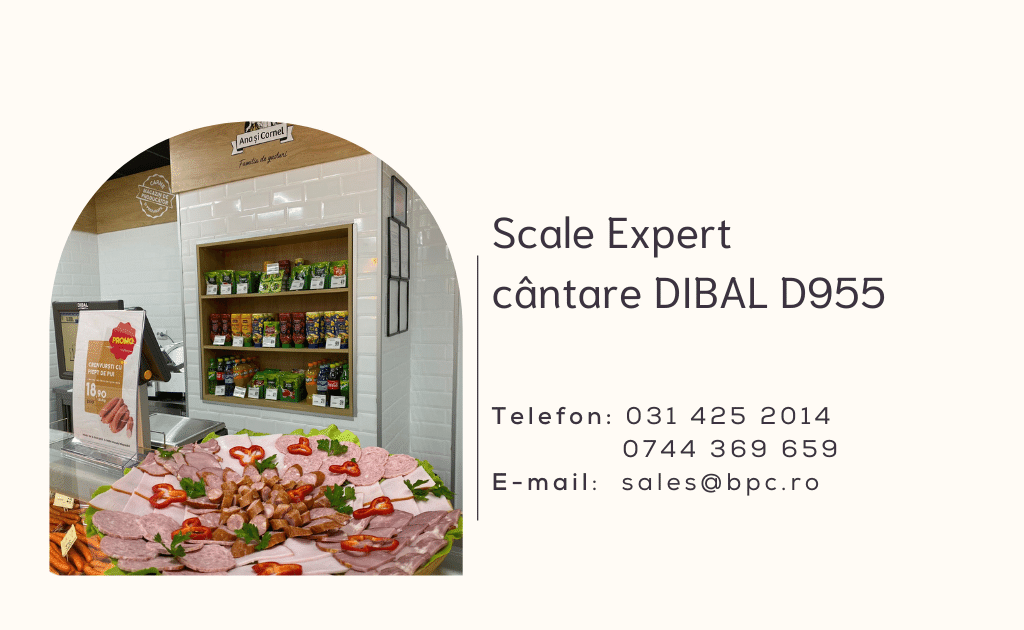 SCALE Expert cantare Dibal D955